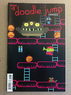 Doodle Jump Comics #1 Video Game Homage Variant Cover 1St Print Near Mint Kaboom