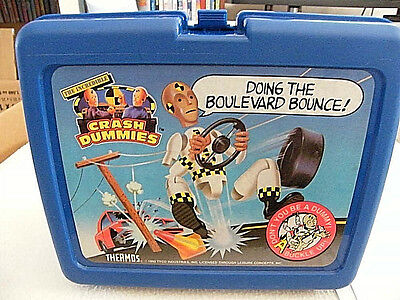 Unique  Tyco 1992 Thermos  The Incredible Crash Dummies   Lunch Box  NO  thermos