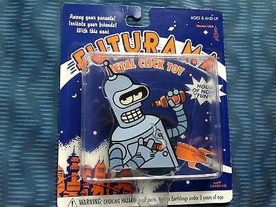Futurama Bender metal click toy