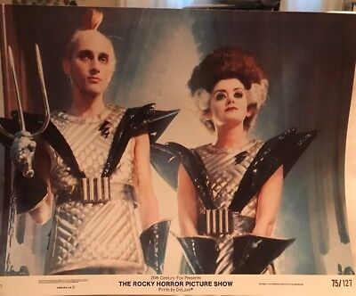 VINTAGE ROCKY HORROR PICTURE SHOW 1975 11x14 LOBBY CARD # 3 OF 8 CULT FAVE PRINT