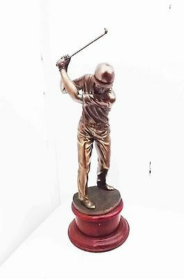 """ The Golf Player "" statue"