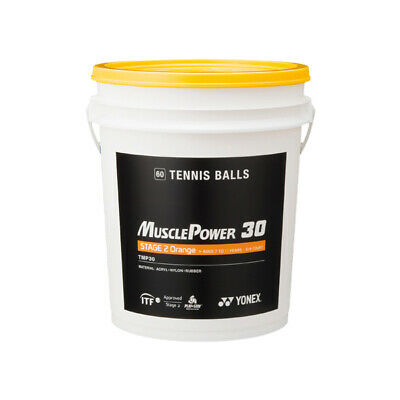 Yonex Muscle Power Tennis Ball Bucket (Empty - No Balls Included)