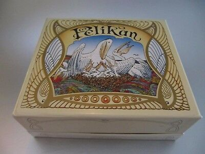 Pelikan Fountain pen complete with Jugendstil style box !