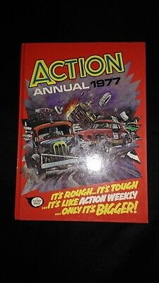 Action Annual 1977 Vintage Action/Adventure Hardback Near Mint