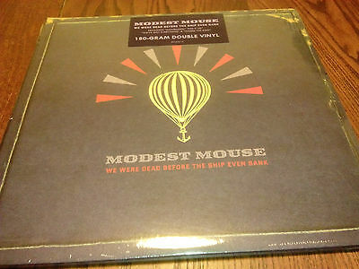 Modest Mouse - We were dead before the ship even bank - 2xLP - USA SEALED!