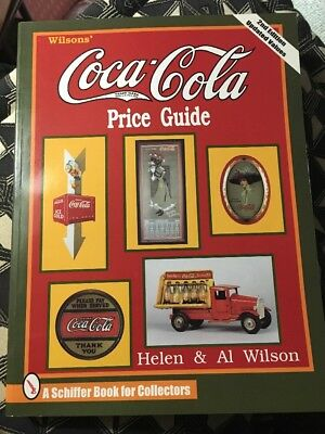 WILSON'S COCA COLA PRICE GUIDE by HELEN & AL WILSON VINTAGE COLLECTIBLE COKE 2ND