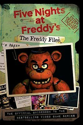 The Freddy Files (Five Nights at Freddys) by Scott Cawthon New Paperback Book