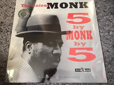Thelonious Monk - 5 By Monk By 5 Deluxe LP & Cd
