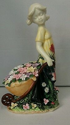Old Tupton Ware figurine - 4491 Summer Bouquet pattern