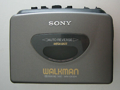 SONY WALKMAN WM-EX334 - Cassette Player *Vintage