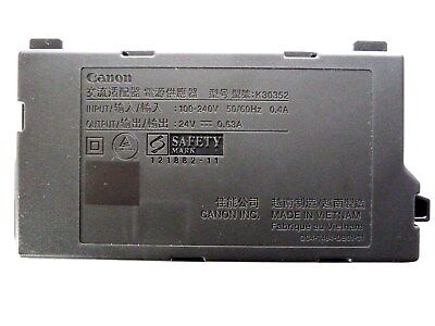 Genuine Canon AC Adapter K30352 (QC4-7484-DB01-01) for Printers MG2420 & MG2520
