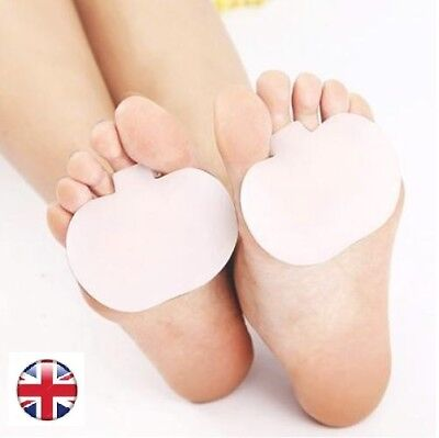 Feet Pads Shoe Inserts Gel Ball Foot Cushion Forefoot Pain Heels Shoes Boots