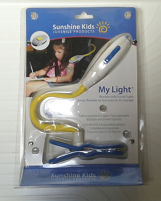 ☼ SUNSHINE KIDS  My Light  Lampe led  flexible de voyage auto pour enfant NEUF☼☼