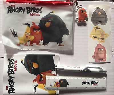 Angry Birds Pencil Case / Stationary Set