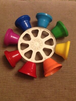 1960s ROUND BELL - VINTAGE MUSICAL Bells INSTRUMENT - BY F.M.T JAPAN