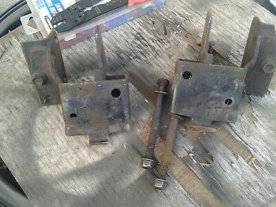 (RARE)OEM Ford Motor and Frame Mounts -1969 1970 BIG BLOCK Ford Mustang Cougar