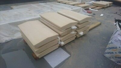 Cast stone copings dimension 600mm x 300mm we have 10 of them. £8 each.