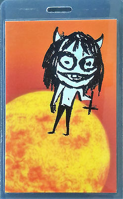 *** OZZY OSBOURNE *** LAMINATED BACKSTAGE PASS - featuring beautiful foil - 1995