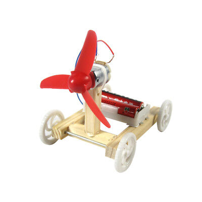 Single-wing Wind Car Assembly Model Kit Developmental Toys Science Experiment ES