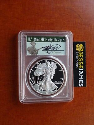 Presale: 2017 S Proof Silver Eagle Pcgs Pr70 Dcam Fdoi From Limited Edition Set