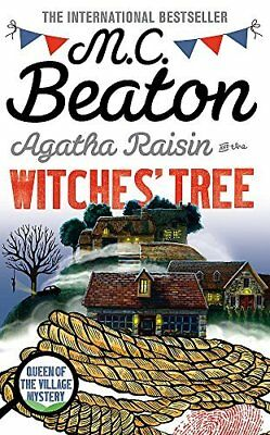 Agatha Raisin and the Witches Tree by M.C. Beaton New Hardcover Book