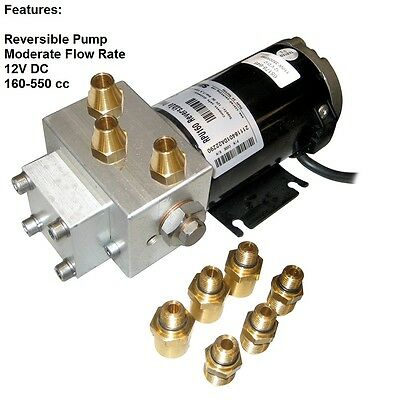 Simrad RPU160 Drive Unit Reversible Pump For Boats Up To 50'-12V DC