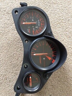 Honda VF1000 R Speedo Clocks UK Showing 28611 Miles