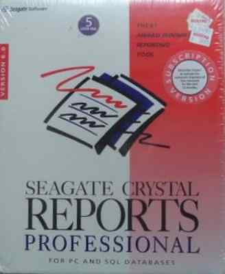 Seagate CRYSTAL REPORTS Professional 6 - 5 User - MwSt Rechnung