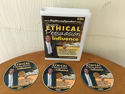 Ethical Persuasion & Influence Home Study Course  By James Malinchak On 3 Cd's!!