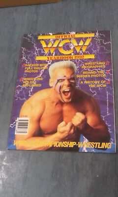 Official WCW 1992 92 Yearbook Year book  WWE STING STEINERS
