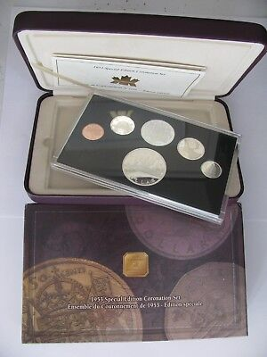 1953-2003 Sp Ltd Ed Proof Set 50th Ann Coronation .925 Silver Canada