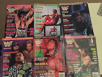WWE (WWF) Magazine Jan 1994 - June 1994