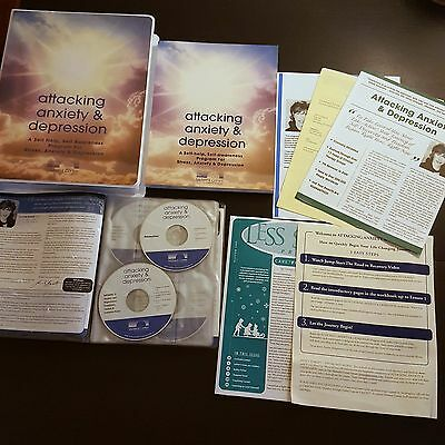 Attacking Anxiety & Depression - by Midwest Center - 16 CDs + Workbook