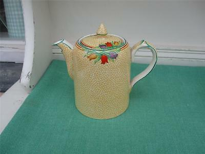 Booths Silicon China LIDDED HOT COFFEE/TEA POT - Lovely Design - VGC