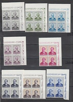 O237 Luxembourg Luxemburg MNH selection of stamps