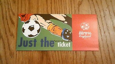 Euro 96 Official Ticket Wallet.