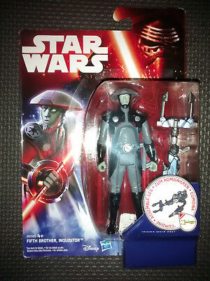 """Star Wars Fifth Brother Inquisitor Collectable Figure 3.75"""" Tall Brand New"""