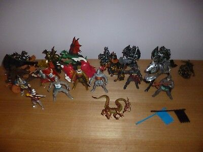 Elc Chap Papo Mei Mey Knights And Horses Job Lot