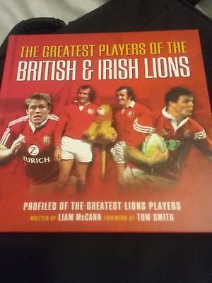 The Greatest Players of the British & Irish Lions book (rugby book)