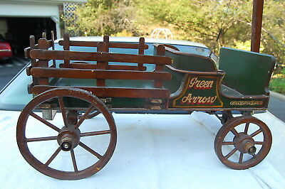 Barn Find Antique Childs Toy Doll Wagon