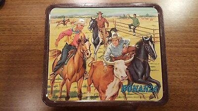 Vintage Bonanza Metal Lunchbox Excellent