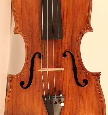 alte feine geige labeled Castello 1772 violon old violin cello viola 小提琴 ヴァイオリン