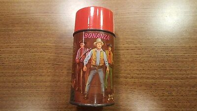 Vintage Aladdin Industries Bonanza Metal Thermos ***nice***