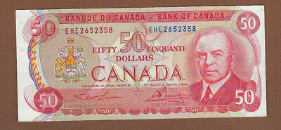 1975 Bank Of Canada $50 Bank Note ...Buy It Now!!