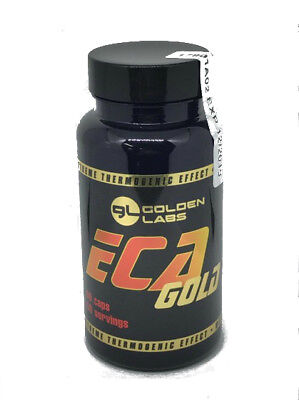 Golden Labs EcaGold 60 caps The strongest thermogenic fatburner