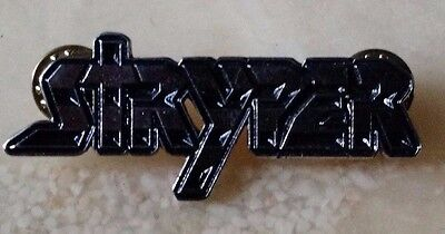 STRYPER metal pin band christian rock Sweet Fox Gaines Isaiah 53:5 The Bible new