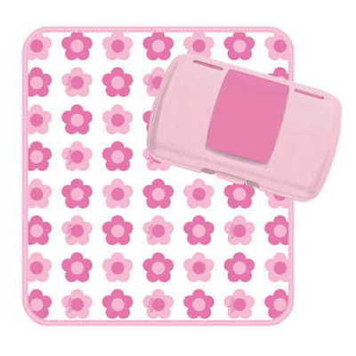 NEW b.box Nappy Wallet Flower Power Eco Nappies ~ Change Mats