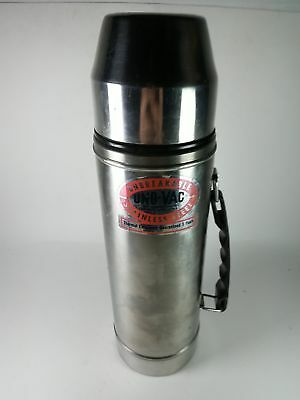 Uno-Vac Unbreakable Stainless Steel Hot Cold Thermos Mug