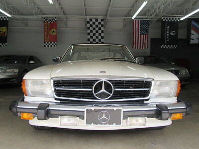 1979 Mercedes-Benz SL-Class  450SL ONLY 78000 MILES FLORIDA CAR RARE AND PACKAGE PEARLWHITE 560SL 560 SL 450S