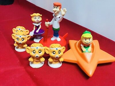 Vintage Jetsons Toy and PVC Lot George Jane, Elroy and more